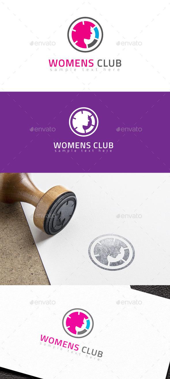 Womens Club Logo - Humans Logo Templates