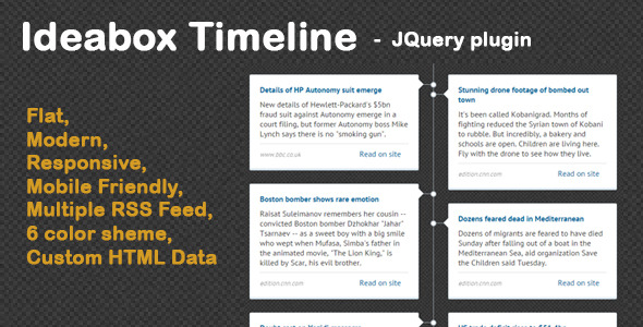 Ideabox - Timeline News Ticker - CodeCanyon Item for Sale
