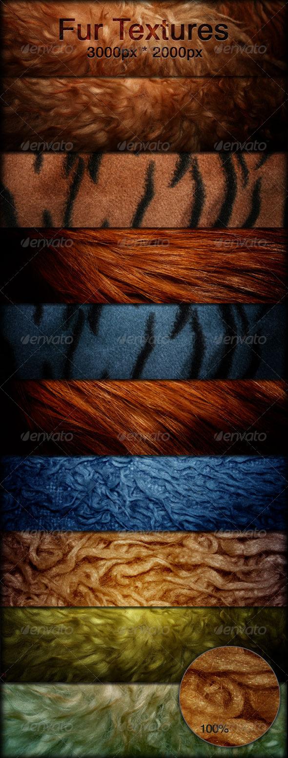 Fur Textures - Faux Fur Fabrics - Fabric Textures