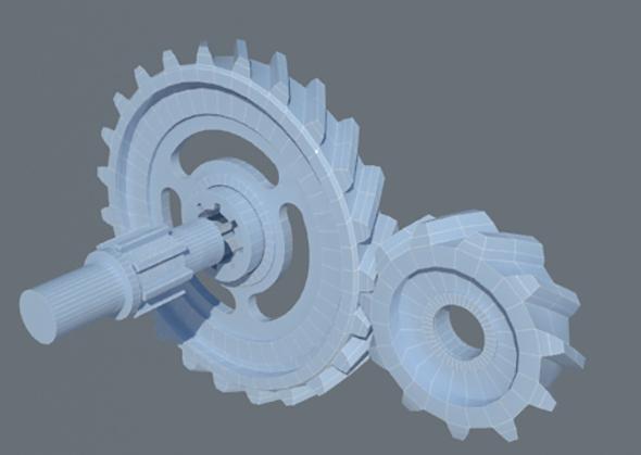 Gear wheels - 3DOcean Item for Sale