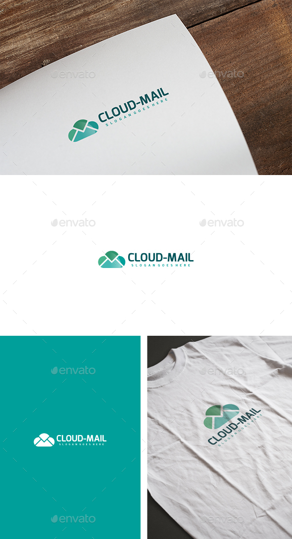 Cloud Mail Logo - Abstract Logo Templates