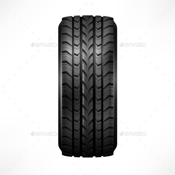 Rubber Tire - Miscellaneous Vectors