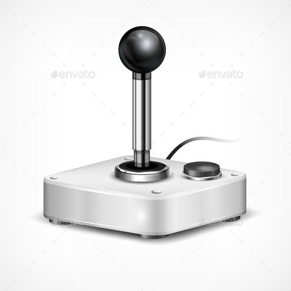 Retro Joystick  - Miscellaneous Vectors
