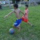 Poor Children Playing Soccer - VideoHive Item for Sale