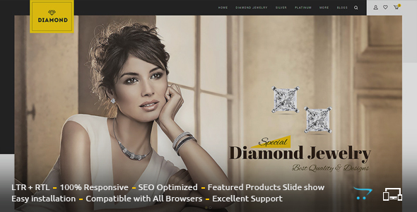 Diamond – Responsive OpenCart Theme