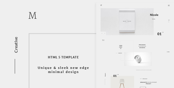 Mino - Modern Multi Concept Template - Creative Site Templates