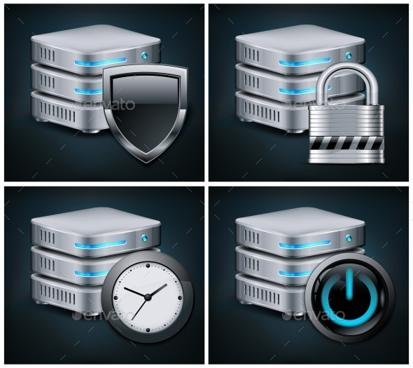 Database Icons - Concepts Business