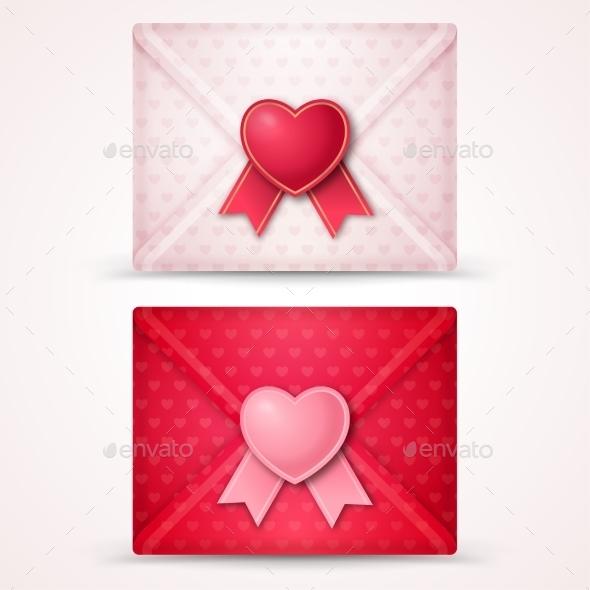 Happy Valentine's Day Envelopes - Valentines Seasons/Holidays