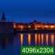 Morning on the Embankment of the Vltava River - VideoHive Item for Sale