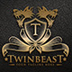 Twin Beast - Royal Predator Logo - GraphicRiver Item for Sale