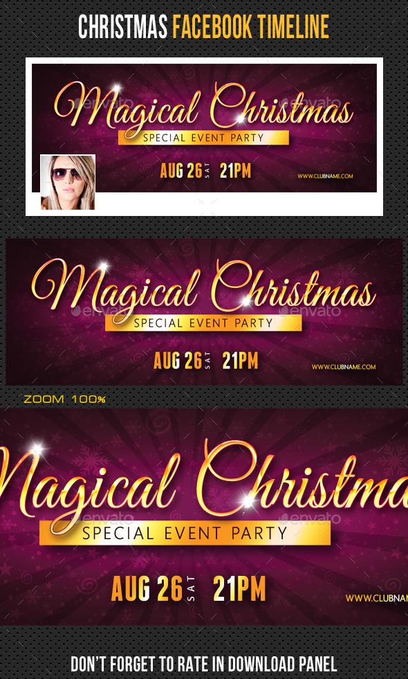 Christmas Holidays Facebook Timeline 05 - Facebook Timeline Covers Social Media