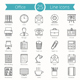 25 Office Line Icons - GraphicRiver Item for Sale