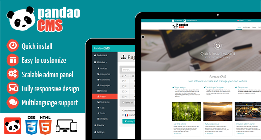 Pandao CMS collection