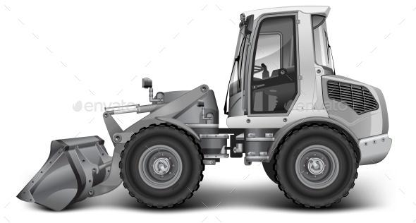 Grey Dredge - Miscellaneous Vectors