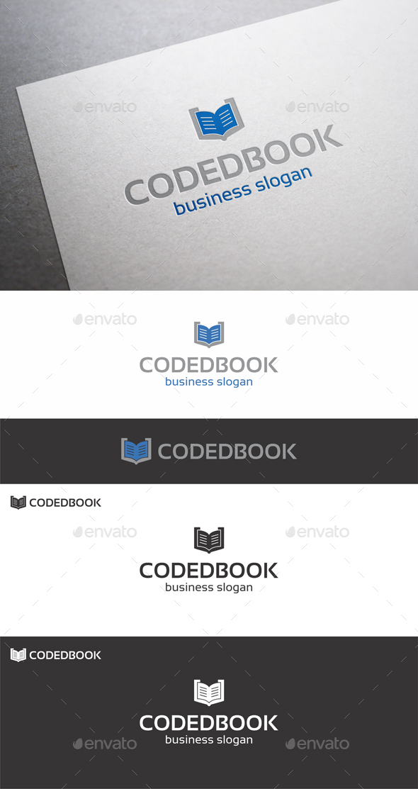 Coded Book Logo
