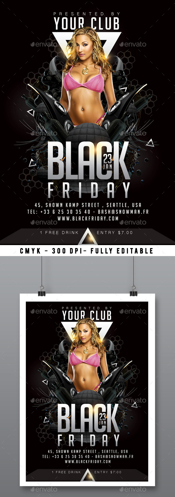 Black Friday - Clubs & Parties Events