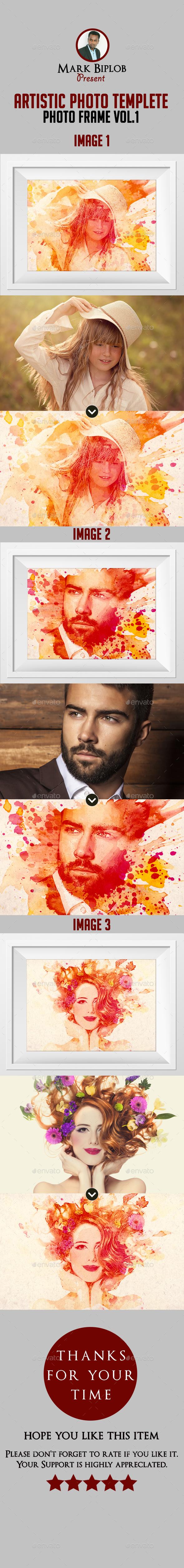 Artistic Photo Manipulation Template  - Artistic Photo Templates