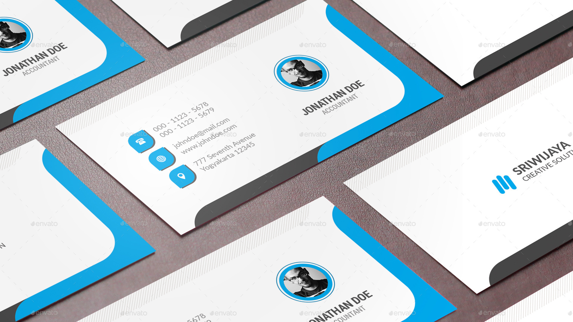 Circle Business Card by GOWES