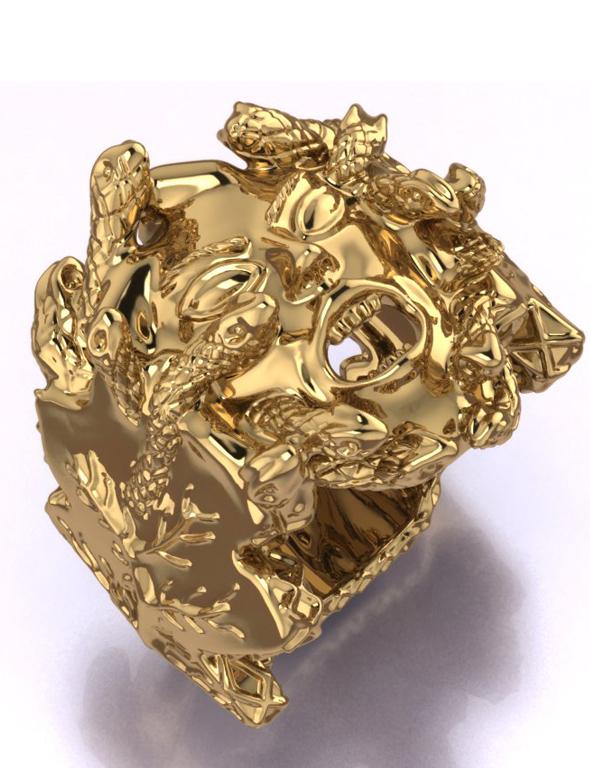 Medusa Ring - 3DOcean Item for Sale
