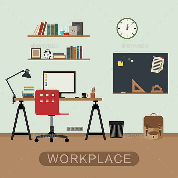 Workplace - Man-made Objects Objects
