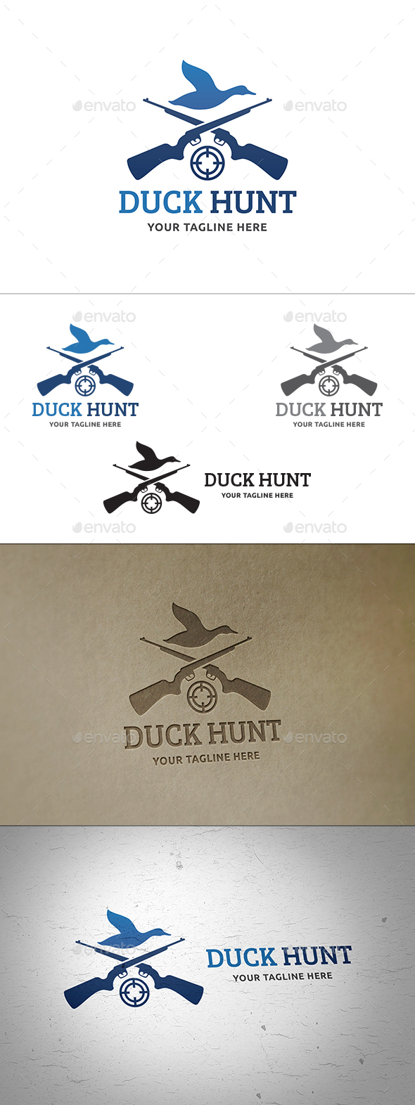 Duck Hunt Logo - Animals Logo Templates