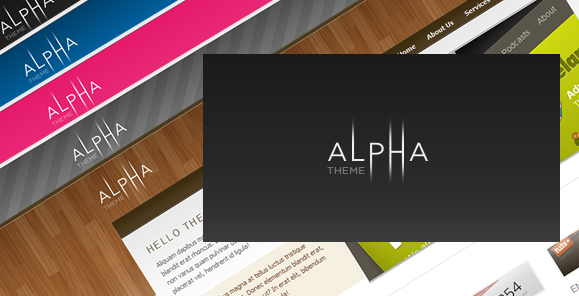 Free Download Alpha Theme Nulled Latest Version