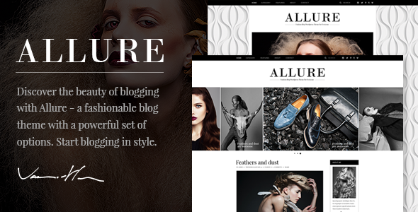 Allure – A Fashionable Blog Theme