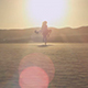 Girl Walking In The Desert - VideoHive Item for Sale