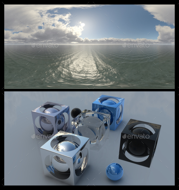 Cloudy Ocean Day 3 - HDRI - 3DOcean Item for Sale