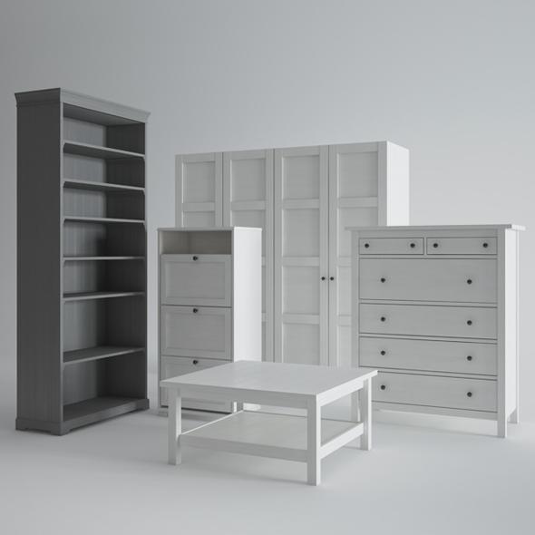 Ikea Furniture - 3DOcean Item for Sale