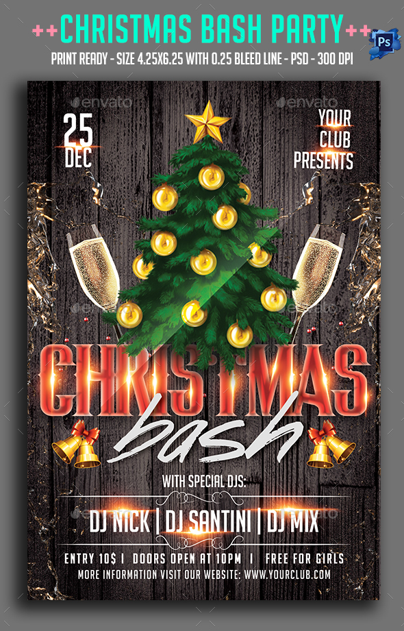 Christmas Bash Party  - Clubs & Parties Events