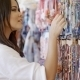 Brunnette Woman Shopping For Clothing - VideoHive Item for Sale