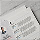 Clean Simple Resume - GraphicRiver Item for Sale