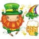 St. Patrick's Day leprechaun set - GraphicRiver Item for Sale