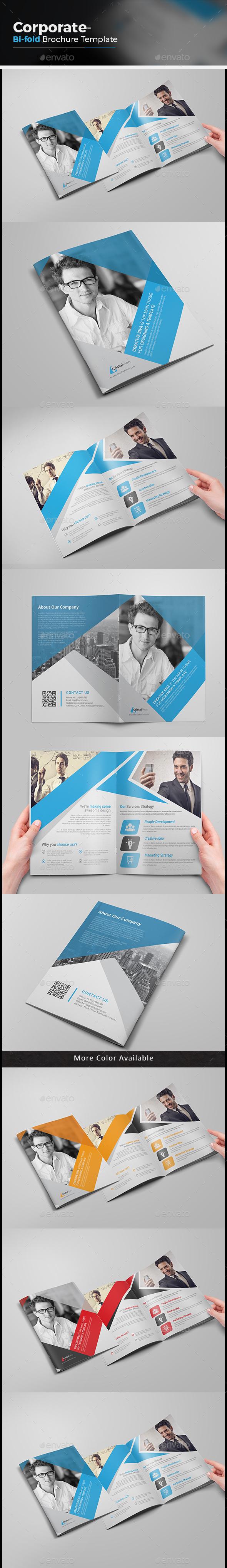 Creative Bi-fold Brochure - Corporate Brochures