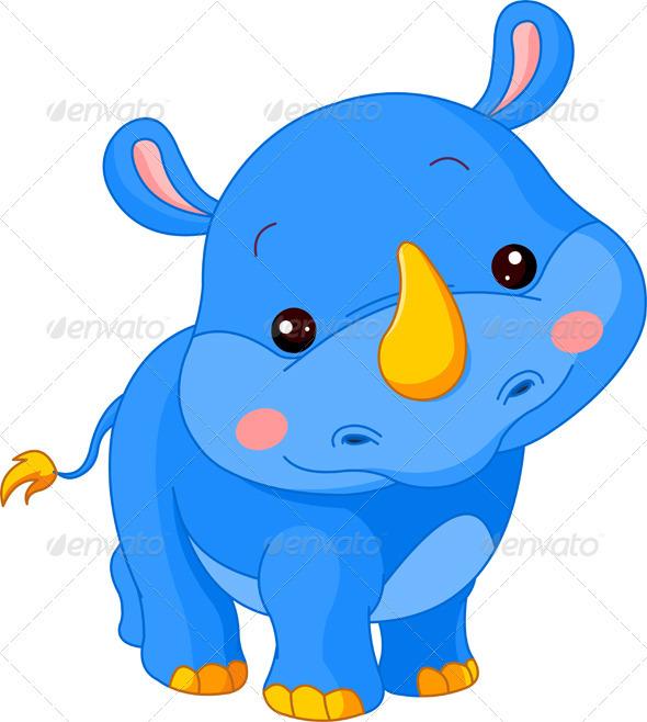 Fun Zoo Rhino - Animals Characters