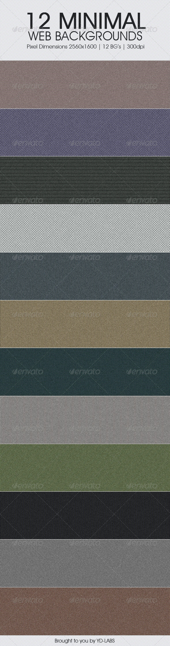 12 Minimal Web Backgrounds - Miscellaneous Backgrounds