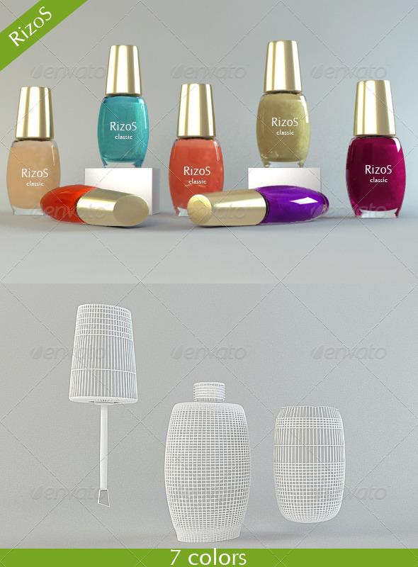 Nail polish by RizoS | 3DOcean