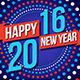 2016 New Year's Corporate Facebook Timeline - GraphicRiver Item for Sale