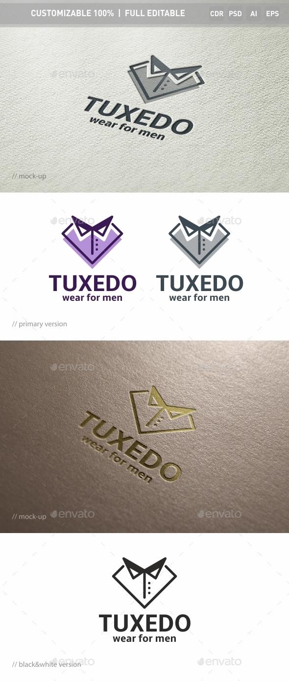 Tuxedo Logo Template - Objects Logo Templates