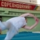 Gymnast Doing Triple Cork 360 Degrees - VideoHive Item for Sale