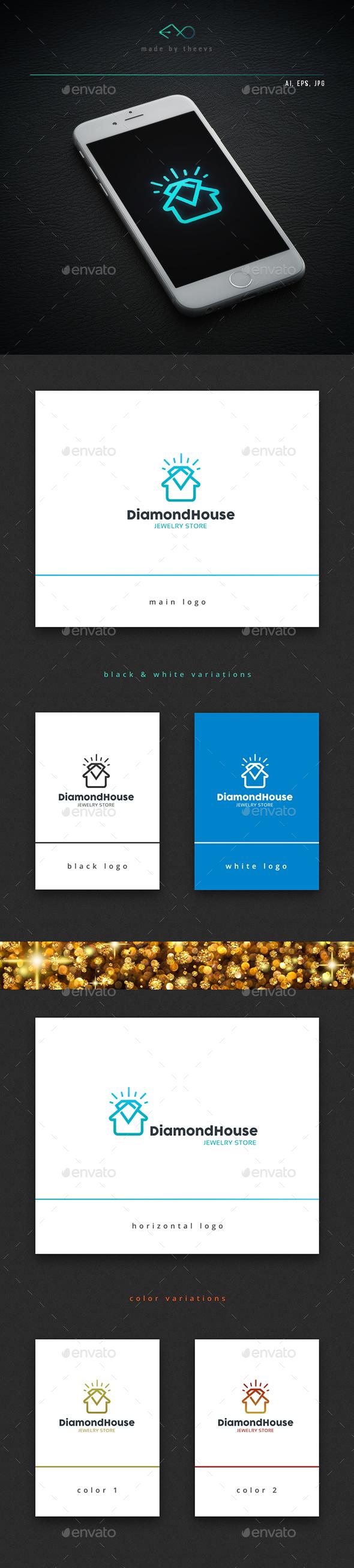 Diamondhouse - Objects Logo Templates