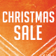 Christmas Sale Postcard - GraphicRiver Item for Sale