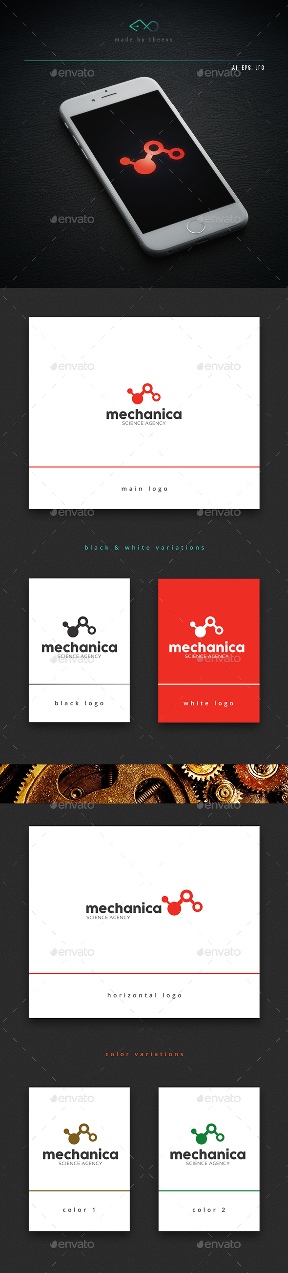 Mechanica - Vector Abstract