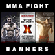 5 Facebook Banners Posts | MMA vol I - GraphicRiver Item for Sale