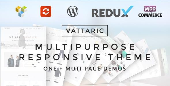 Vattaric – Multipurpose Responsive Theme