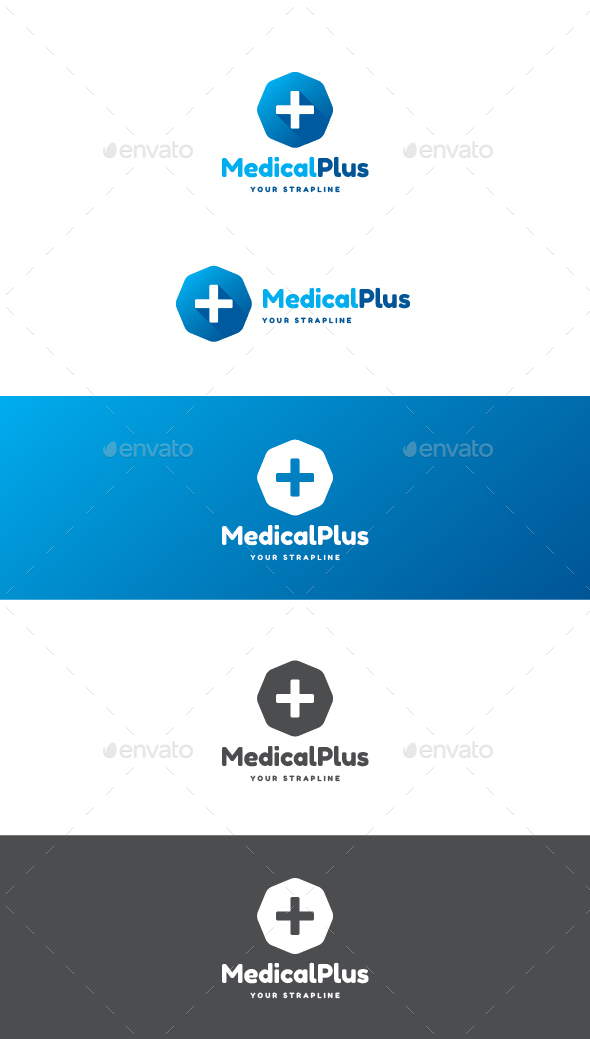 Medical Plus Logo - Symbols Logo Templates
