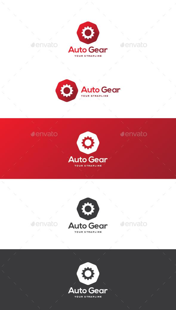 Auto Gear Logo - Symbols Logo Templates