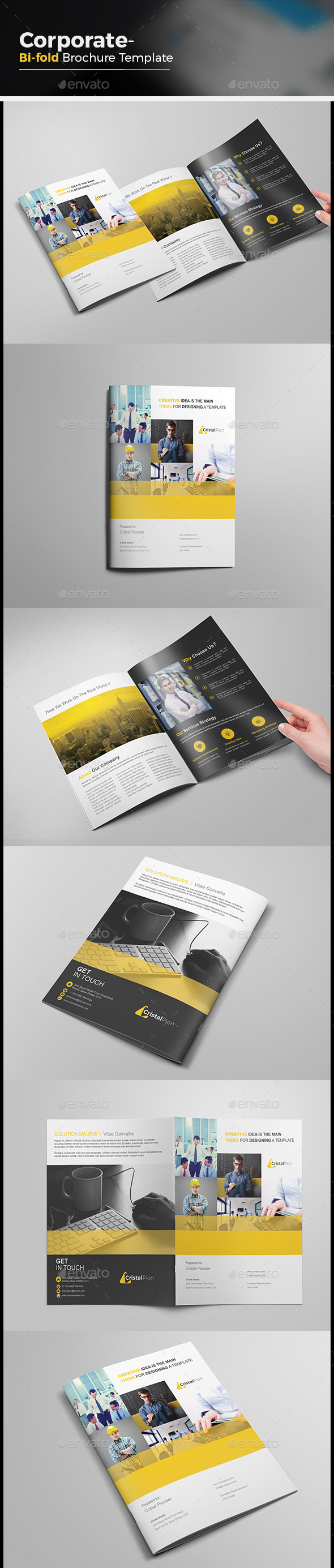 Agency Bi-fold Brochure - Corporate Brochures