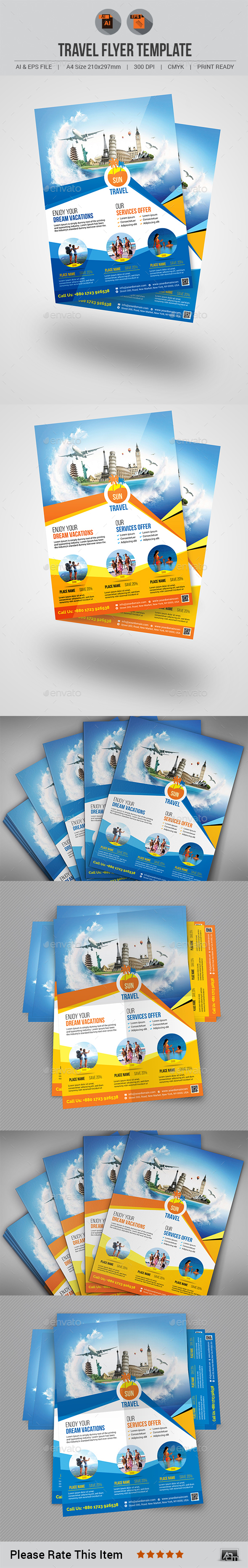 Travel Flyer V6 - Holidays Events